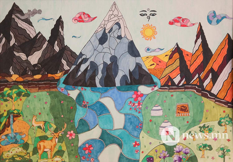 Монгол АРТ галерей Хүүхдийн зургийн уралдаан (95)