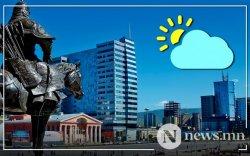 Улаанбаатарт өдөртөө 21-23 градус дулаан байна