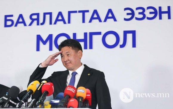 Монгол Улсын 6 дахь Ерөнхийлөгч У.Хүрэлсүх боллоо