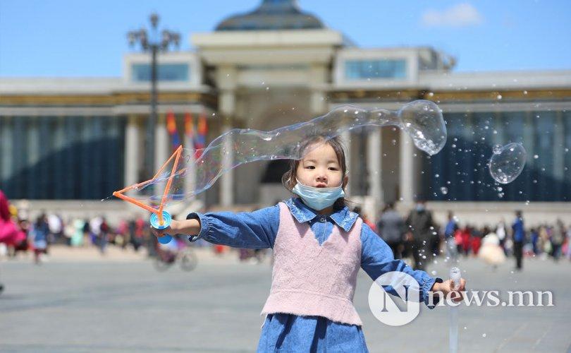 ФОТО: Covid-19-тэй Хүүхдийн баяр