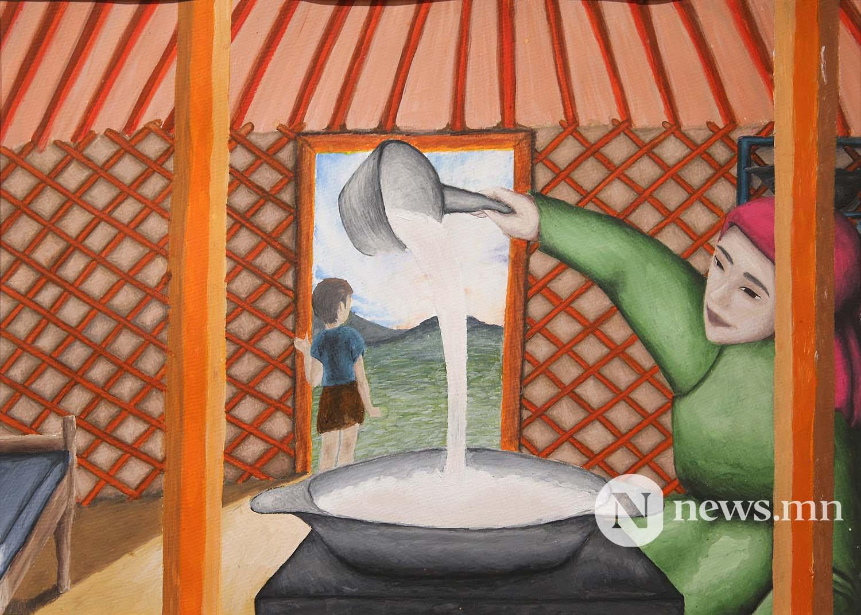 1-р байр Монгол АРТ галерей Хүүхдийн зургийн уралдаан (47)