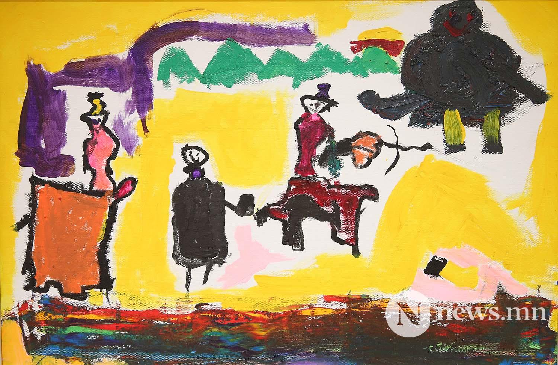 1-р байр Монгол АРТ галерей Хүүхдийн зургийн уралдаан (49)