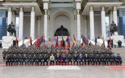 Афганистанд үүрэг гүйцэтгэсэн цэргийн багт хүндэтгэл үзүүллээ