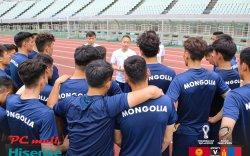 Монголын шигшээ баг Киргизийг яллаа