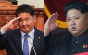 У.Хүрэлсүхэд Хойд Солонгосын удирдагч мэндчилгээ илгээжээ
