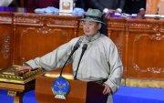 Монгол Улсын зургаа дахь Ерөнхийлөгч У.Хүрэлсүх тангараг өргөлөө