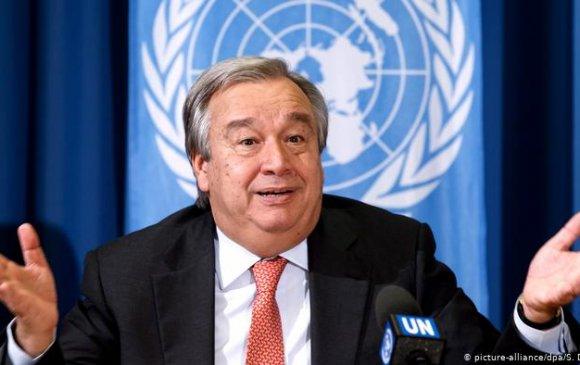 НҮБ-ын даргаар Антонио Гутерресийг улираан томилжээ