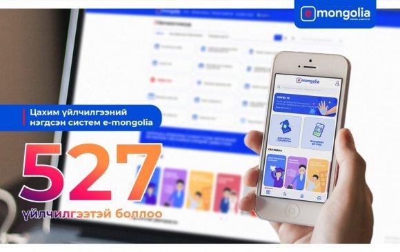 """Иргэн, ААН-д зориулсан 527 үйлчилгээ """"e-Mongolia""""-д орлоо"""