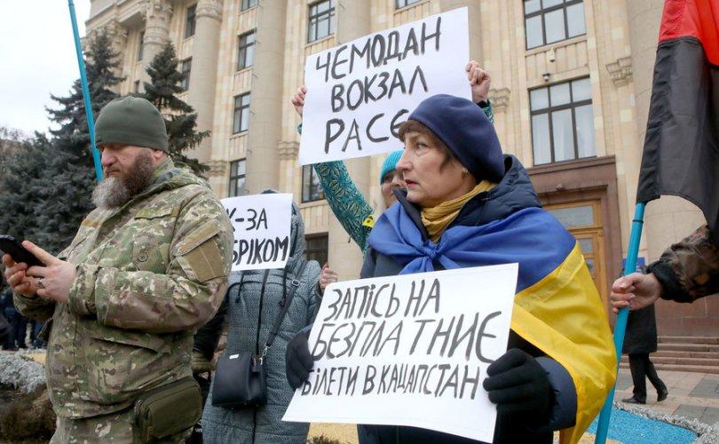 Путин Украины угсаатныг ялгах шинэ хуулийг нацист Германтай зүйрлэв
