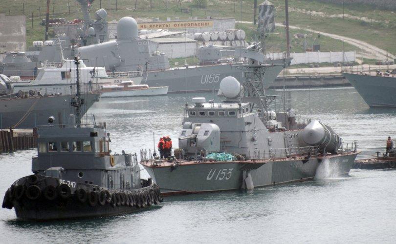 Их Британи Украинд тэнгисийн цэргийн бааз барьж өгнө