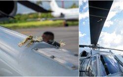 Колумбын Ерөнхийлөгчийн сууж явсан нисдэг тэрэг рүү гал нээжээ