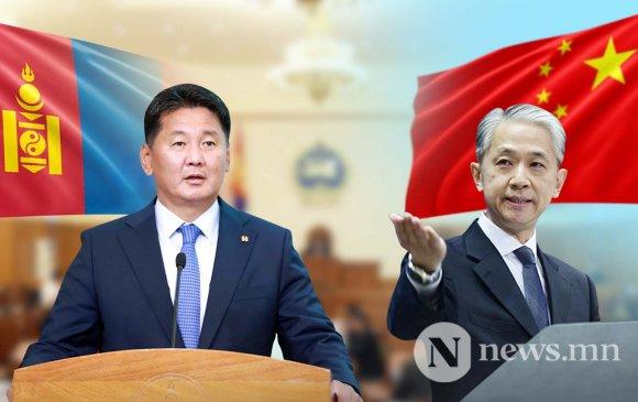 Ван Вэньбинь: У.Хүрэлсүх Хятадын ард түмэнд танил улстөрч