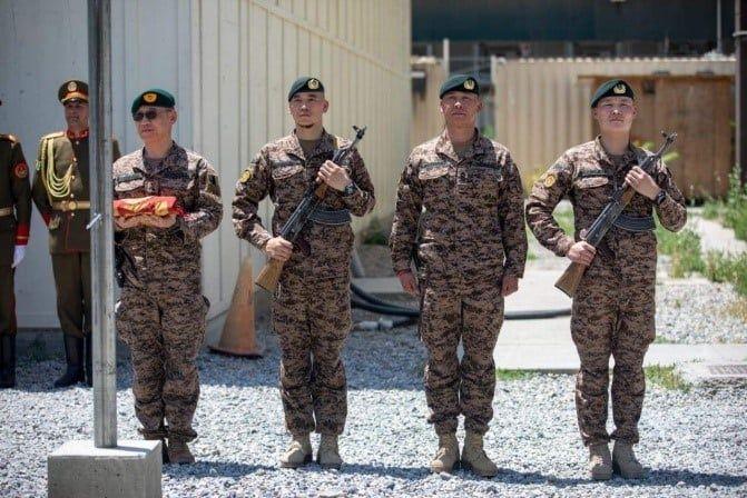 Монгол цэргүүд Афганистанд үүргээ амжилттай гүйцэтгэв