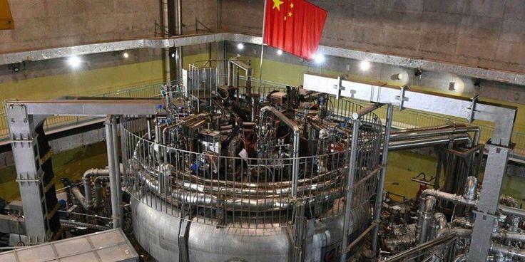"""Хятадын """"хиймэл нар"""" реактор дээд амжилт тогтоолоо"""