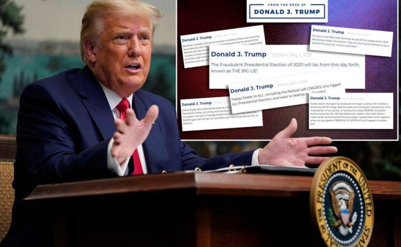 Хүн уншихгүй байсан тул Трамп өөрийн блогоо устгахаар шийджээ