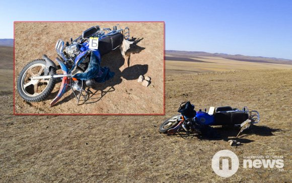 Мотоцикл жолоодож явсан 13 настай хүү онхолдож, гэмтжээ