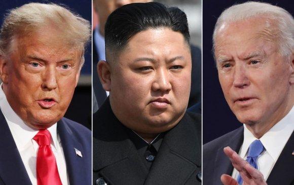 Трамп: Байден Ким Жон Унтай ярилцаж чадахгүй