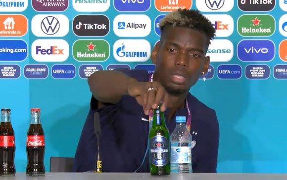 """Роналдогийн адилаар Погба """"Heineken""""-ээс татгалзав"""