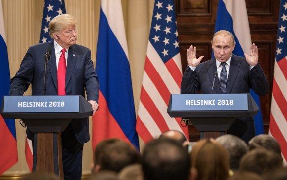 Трамп: Би Путинд АНУ-ынтагнуулаас илүү итгэдэг
