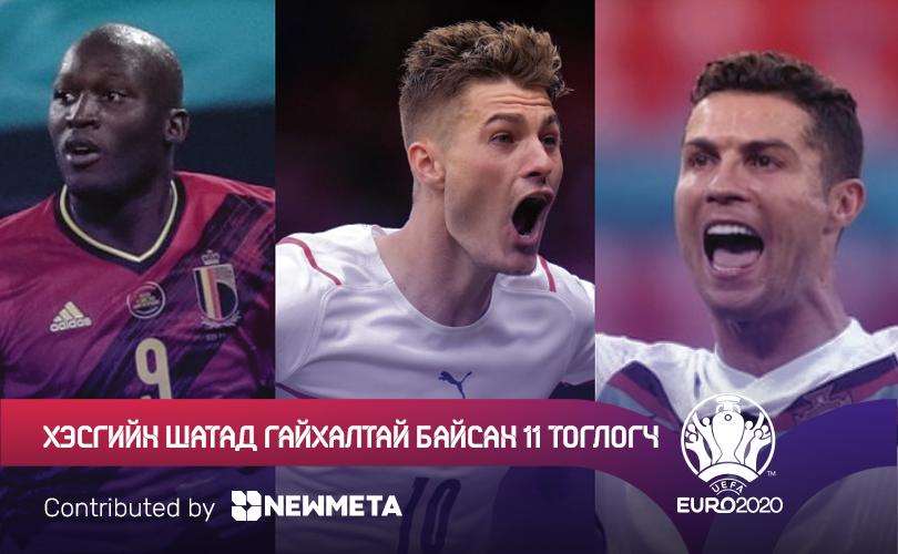 Евро 2020: Хэсгийн тоглолтуудад гялалзсан шилдэг 11 тоглогч