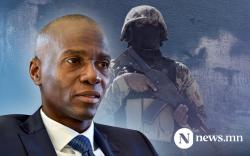 Гаити улсын Ерөнхийлөгчийг гэрт нь буудаж, хөнөөжээ