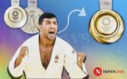 Жүдо: Саид Моллаей Токиогийн олимпоос мөнгөн медаль хүртлээ