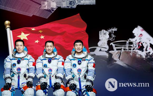 Хятадын сансрын нисэгчид анх удаа задгай сансарт алхлаа