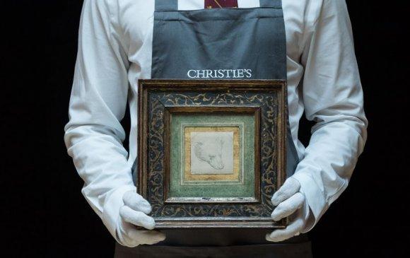 Леонардо да Винчийн зураг худалдаанд дээд амжилт тогтоов
