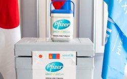 """""""Pfizer"""" вакцины дөрөв дэх ээлжийн 30420 тун Монголд иржээ"""