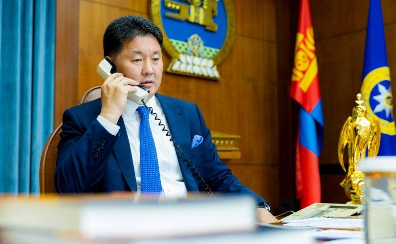 Ерөнхийлөгч У.Хүрэлсүх, В.В.Путин нар утсаар ярив
