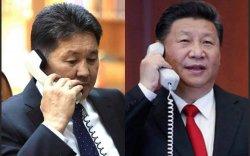 Ерөнхийлөгч У.Хүрэлсүх БНХАУ-ын дарга Ши Жиньпинтэй утсаар ярив