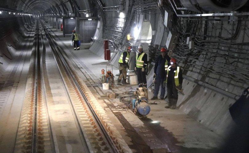 Эрхүү Буриадыг холбосон төмөр замын хоёр дахь туннелийг нээв