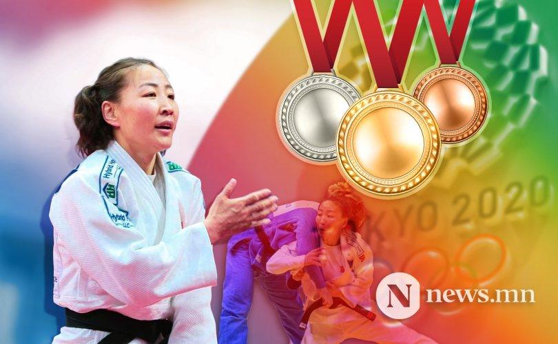 МУГТ М.Уранцэцэг олимпийн хүрэл медаль хүртлээ