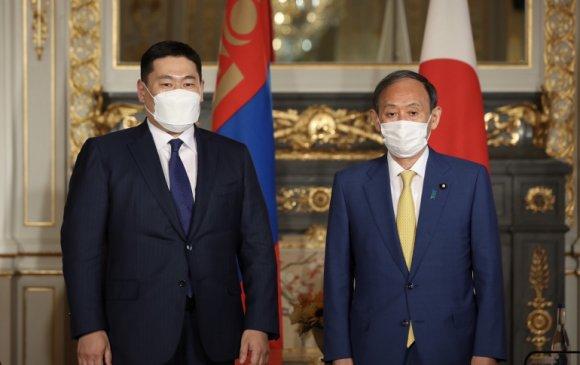 Япон улсын Ерөнхий сайд Ё.Сүгатай албан ёсны уулзалт хийв