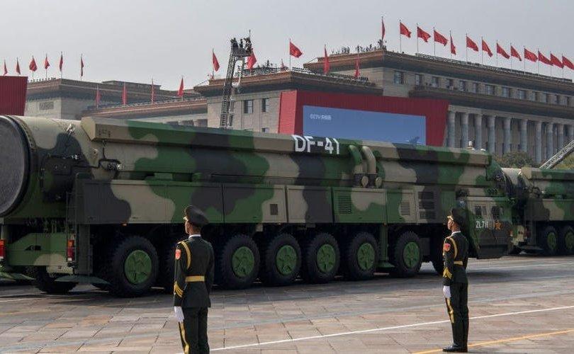 БНХАУ цөмийн пуужингийн 100 агуулах шинээр байгуулж байна