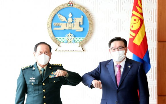БНХАУ-ын Батлан хамгаалахын сайд Вэй Фөнхө бараалхав