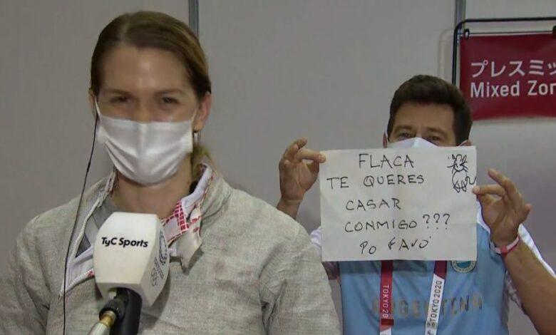 Олимпийн үеэр найз бүсгүйдээ гэрлэх санал тавьжээ