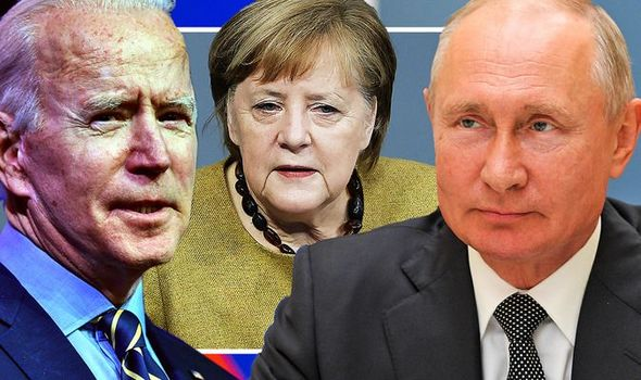 Байден, Меркель нар Оросын түрэмгийллийн эсрэг нэгдэнэ
