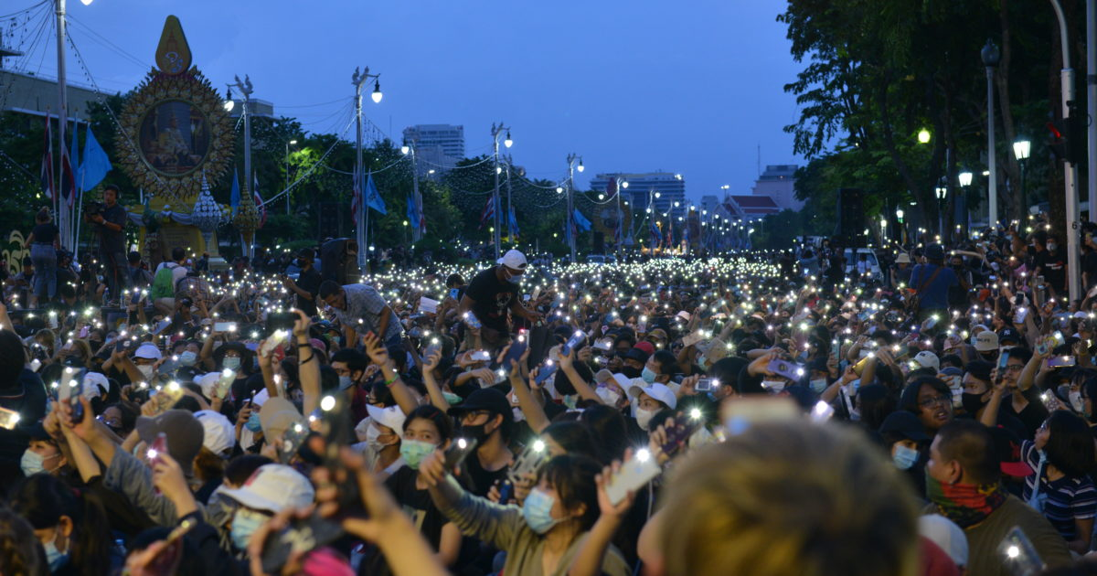 Thailand: Students protest on the street