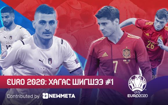 Евро 2020: Хагас шигшээ тоглолтууд #1