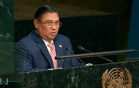 Мьянмарын НҮБ дэх төлөөлөгчийг солихыг хүслээ