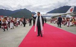 Ши Жиньпин Төвөдөд гэнэтийн айлчлал хийлээ