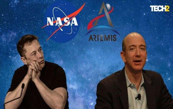 Безос NASA-д хямд сансрын хөлөг бүтээх санал тавилаа