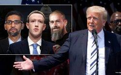 """Трамп """"Google"""", """"Twitter"""", """"Facebook""""-ийг шүүхэд өгчээ"""