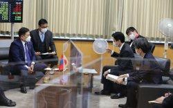 Ерөнхий сайд Л.Оюун-Эрдэнэ Японы ХӨСҮТ-ийн удирдлагатай уулзав