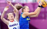 3х3: Румын Монголыг ялж, олимпийн анхны хожлоо авав
