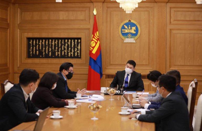 """Ерөнхий сайд """"Транспэрэнси интернэшнл Монгол"""" байгууллагын төлөөллийг хүлээн авч уулзлаа"""