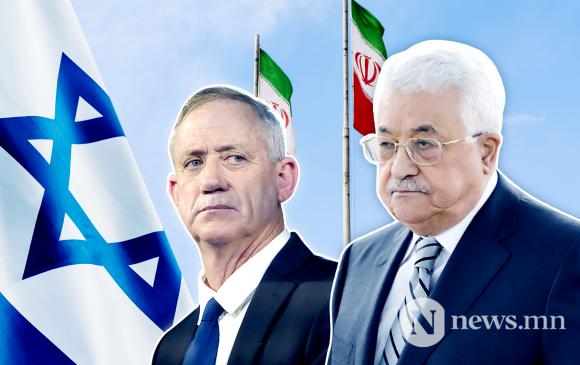 Израилийн Батлан хамгаалахын сайд Палестинд айлчиллаа
