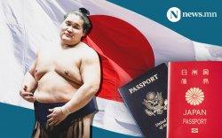 Шинэ ёкозүна Тэрүнофүжи Г.Ган-Эрдэнэ Японы иргэншил авчээ
