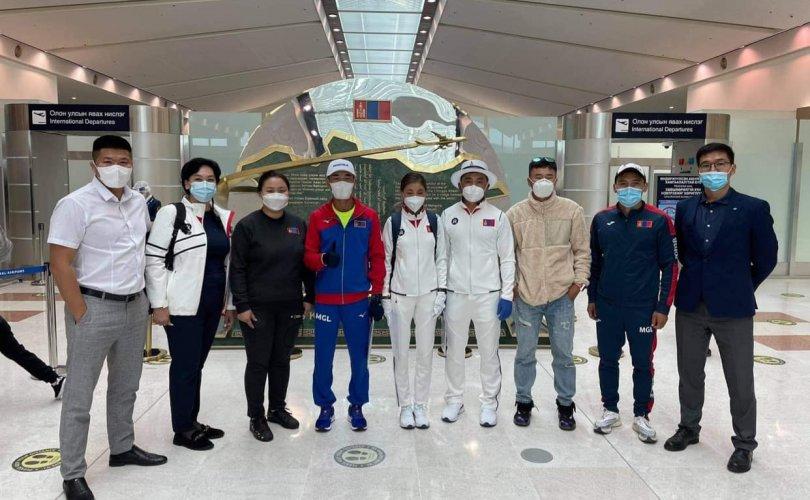 Монголын баг тамирчдын сүүлчийн ээлж Токиог зорилоо
